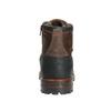 Kožená pánská obuv s masivní podešví bata, hnědá, 896-4665 - 17