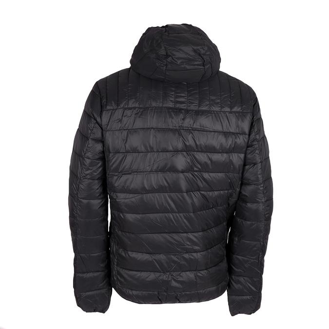 Pánská prošívaná bunda s kapucí bata, černá, 979-6143 - 26