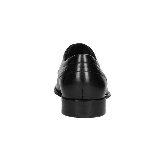 Kožené pánské Derby polobotky conhpol, černá, 824-6992 - 16