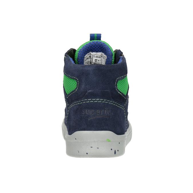 Kotníčková dětská obuv superfit, modrá, 113-9029 - 16