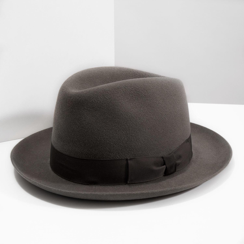 Tonak Hnědý klobouk s mašlí - Čepice a klobouky  1e3badc27f