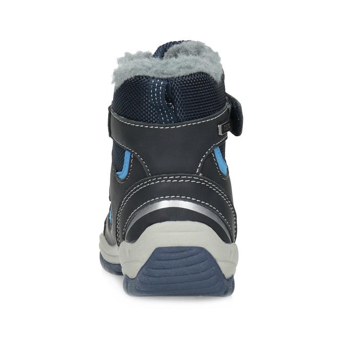 Dětské zimní boty s kožíškem bubblegummers, modrá, 199-9602 - 15