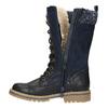 Dívčí zimní obuv s úpletem mini-b, modrá, 391-9657 - 26