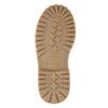 Dívčí zimní obuv s úpletem mini-b, modrá, 391-9657 - 19