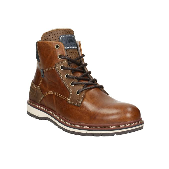 Baťa Pánská kožená zimní obuv  d98ede242f