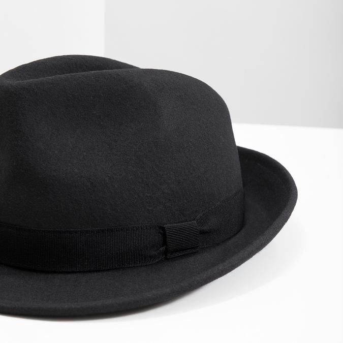 Černý klobouk bata, černá, 909-6674 - 14