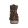 Kotníková zimní obuv pánská bata, hnědá, 896-4657 - 17