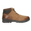 Pánská zimní kožená obuv bata, hnědá, 896-3681 - 26