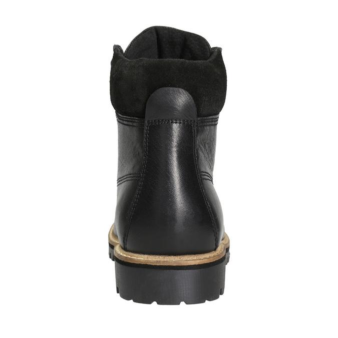 Pánská zimní obuv bata, černá, 894-6692 - 16