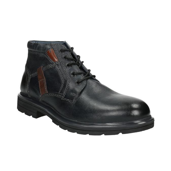 Kotníčková pánská obuv bata, modrá, 896-9682 - 13