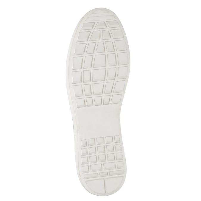 Kožené pánské tenisky bata, hnědá, 846-3643 - 17