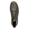 Kotníčková obuv s masivní podešví bata, hnědá, 896-4683 - 26