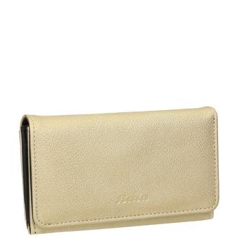 Dámská peněženka se zipovou kapsou bata, žlutá, 941-8156 - 13