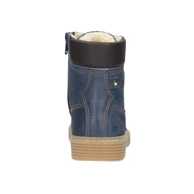 Dětská zimní obuv se zateplením mini-b, modrá, 496-9620 - 16