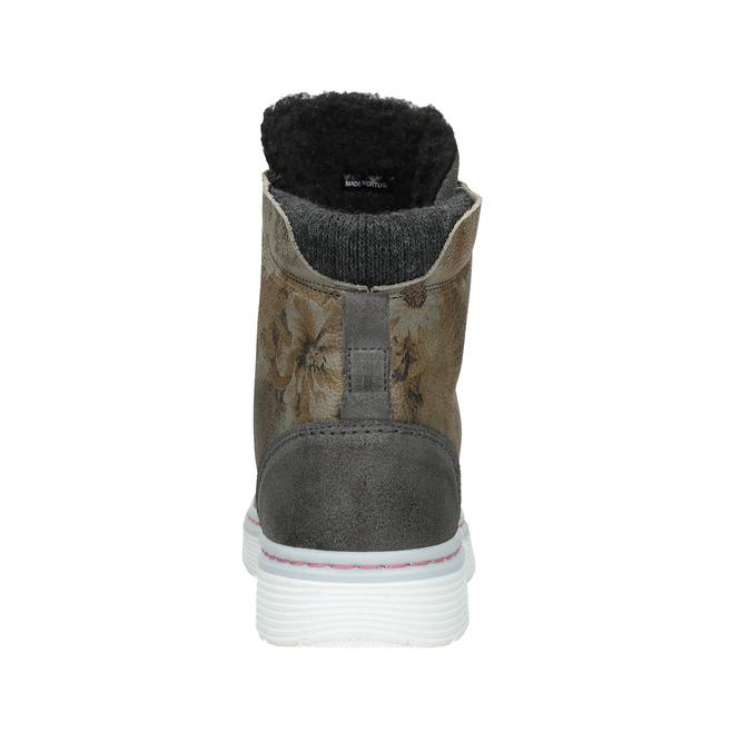 Dámská zimní obuv se zateplením bata, šedá, 596-2684 - 16
