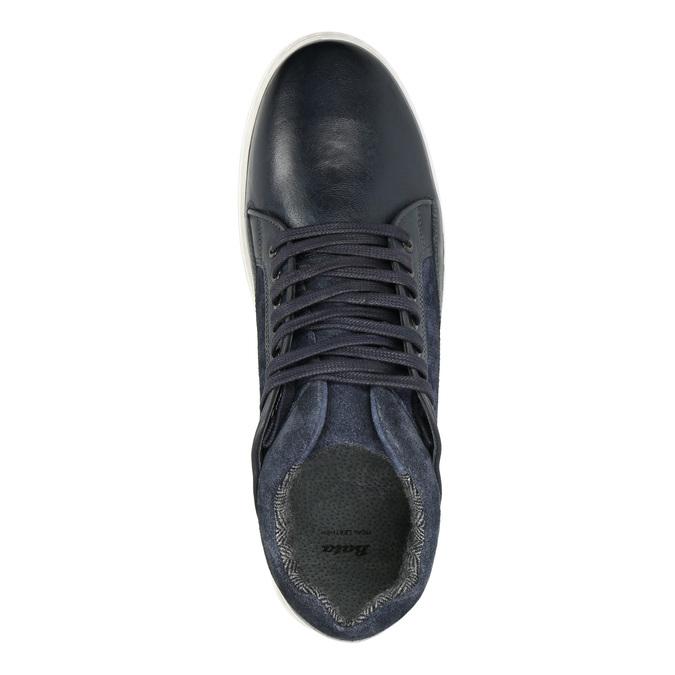 Pánské kožené tenisky bata, 846-6643 - 15