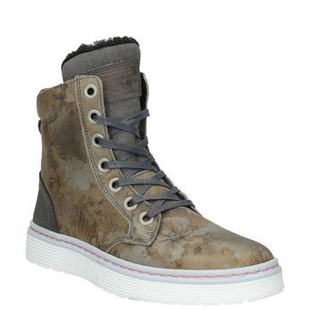 Dámská zimní obuv se zateplením bata, šedá, 596-2684 - 13
