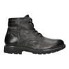 Kožená pánská zimní obuv bata, šedá, 896-2682 - 26