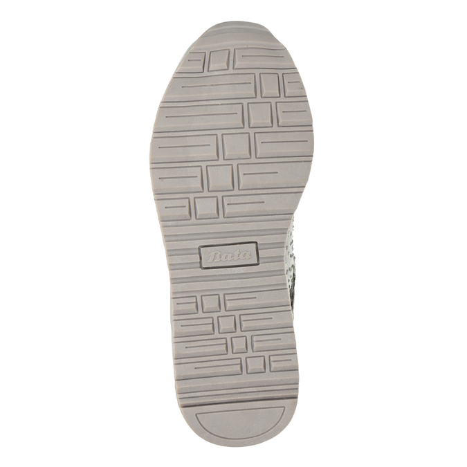 Stříbrná dívčí zimní obuv mini-b, šedá, 329-2287 - 17