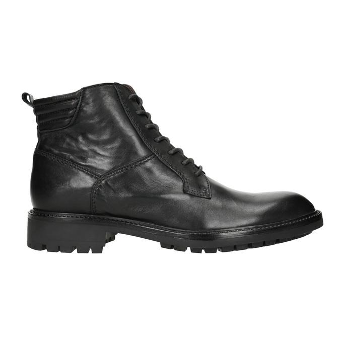 Pánská kožená obuv bata, černá, 894-6695 - 26