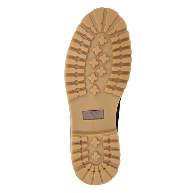 Kotníčková obuv s masivní podešví weinbrenner, modrá, 896-9669 - 17