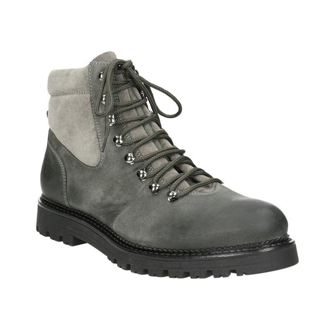 Weinbrenner Kotníčková dámská kožená obuv - Weinbrenner  bfa54f5049