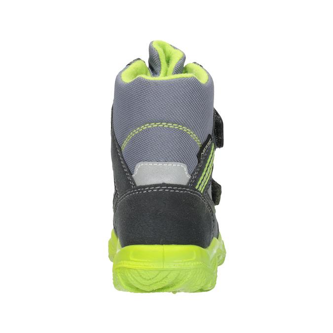 Dětská zimní obuv s výraznou podešví superfit, šedá, 299-2025 - 16