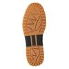 Pánská kožená kotníčková obuv k1x, hnědá, 806-3542 - 17