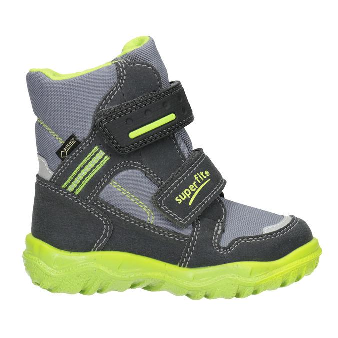 Dětská zimní obuv s výraznou podešví superfit, šedá, 299-2025 - 26