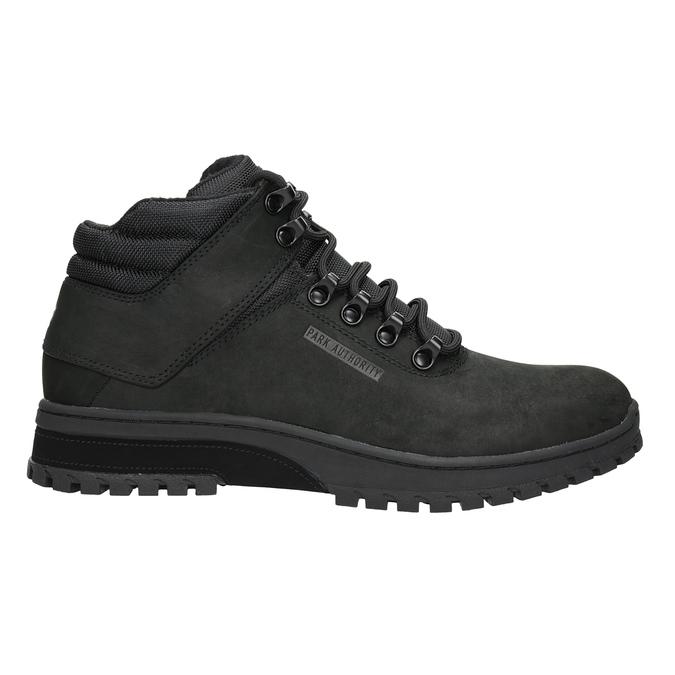 Černá pánská kotníčková obuv k1x, černá, 806-6495 - 26