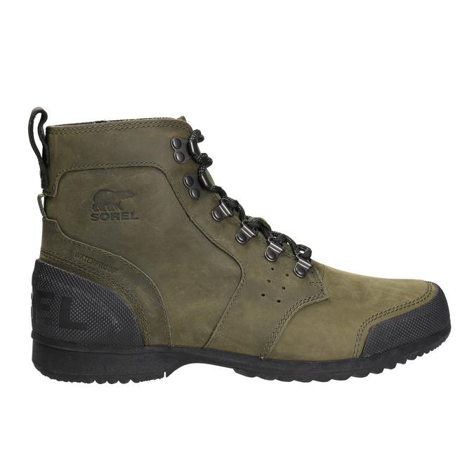 Kožená pánská zimní obuv sorel, hnědá, 826-3067 - 26