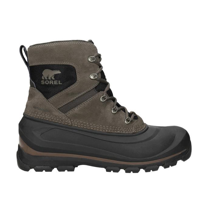 Kožená pánská zimní obuv sorel, 826-4068 - 26