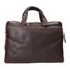 Pánská kožená taška bata, hnědá, 964-4112 - 17