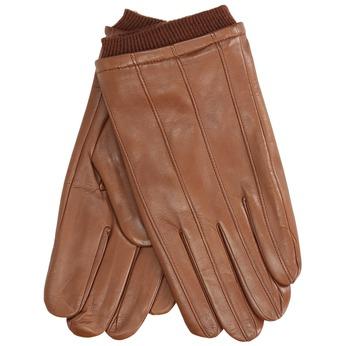 Kožené rukavice hnědé bata, hnědá, 904-3117 - 13
