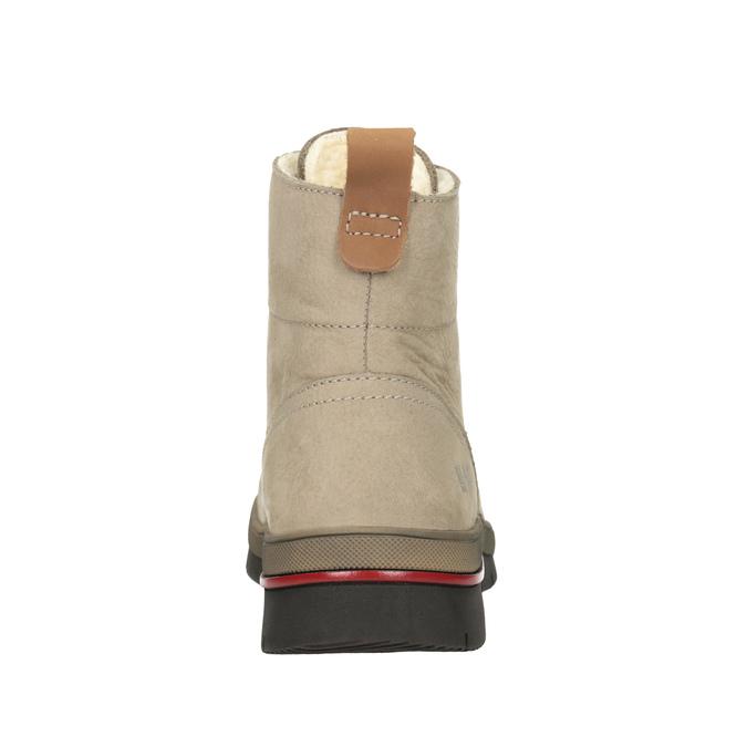 Dámská kotníčková zimní obuv weinbrenner, hnědá, 596-3666 - 16
