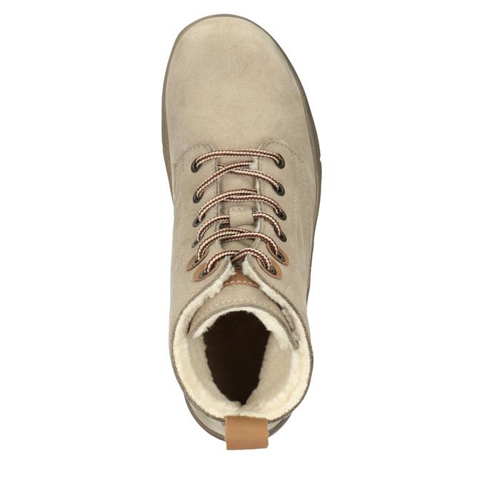Dámská kotníčková zimní obuv weinbrenner, hnědá, 596-3666 - 15