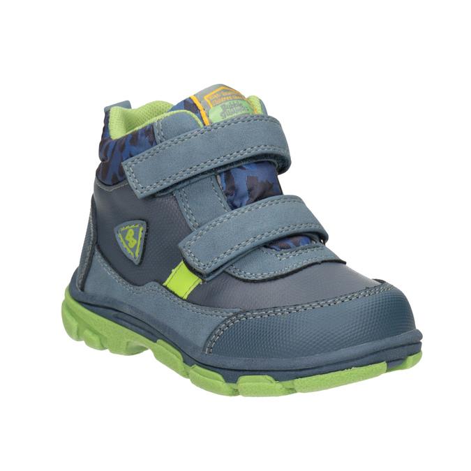 Kotníčková dětská obuv bubblegummers, modrá, 111-9623 - 13