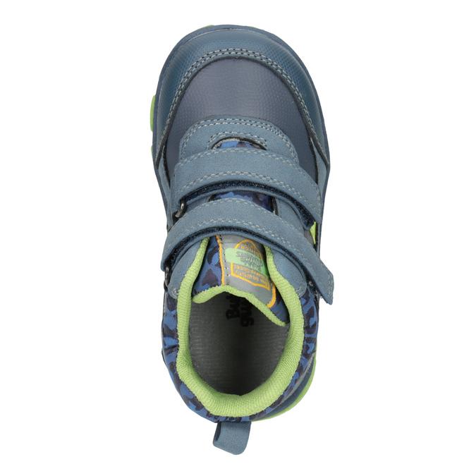 Kotníčková dětská obuv bubblegummers, modrá, 111-9623 - 17