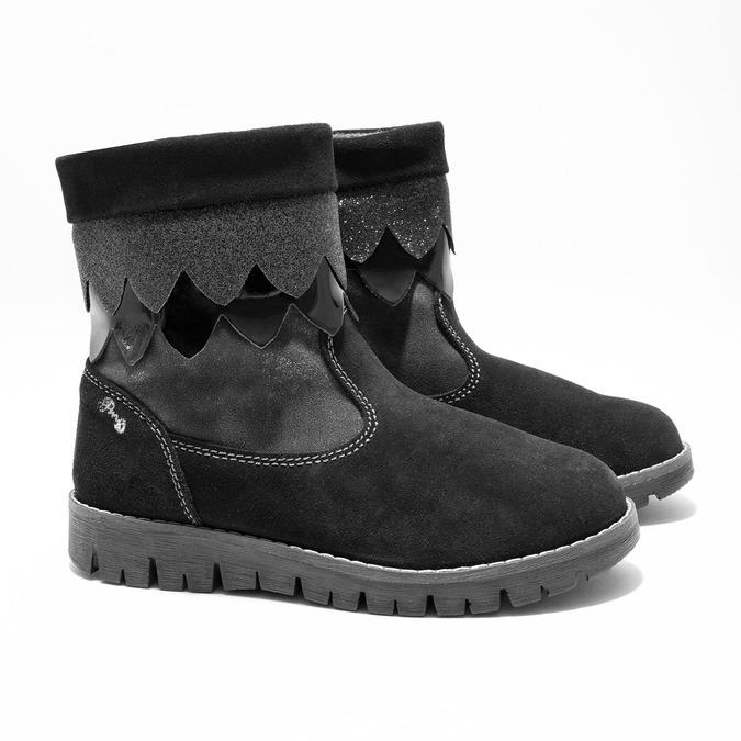 Dětská zimní obuv primigi, černá, 423-6005 - 26