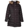 Dásmká zimní bunda s kožíškem bata, hnědá, 979-4134 - 13