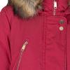 Červená dámská bunda s kapucí bata, červená, 979-5177 - 16