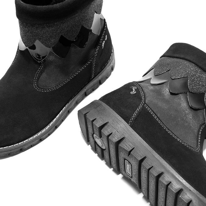 Dětská zimní obuv primigi, černá, 423-6005 - 14