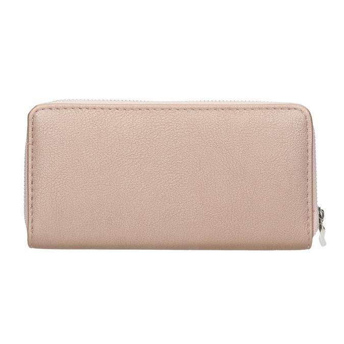 Dámská peněženka růžová bata, růžová, 941-5155 - 16