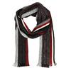 Pánská pruhovaná šála bata, černá, 909-6616 - 13