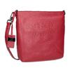 Červená kožená Crossbody kabelka picard, červená, 964-5094 - 13