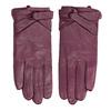 Dámské kožené rukavice bata, fialová, 904-0109 - 26