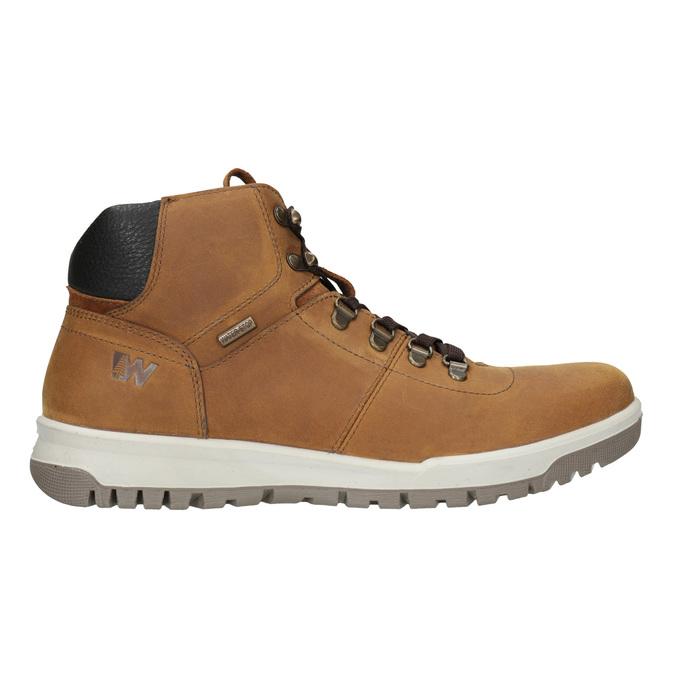 Kožená pánská kotníčková obuv weinbrenner, hnědá, 896-3701 - 26
