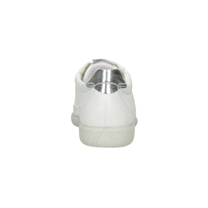 Bílé kožené tenisky gabor, bílá, 626-1204 - 16