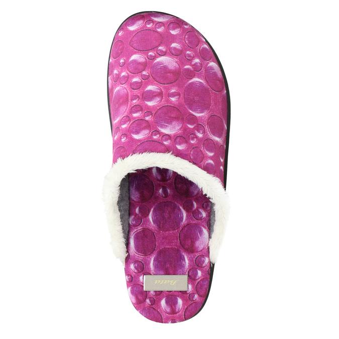 Dámská domácí obuv růžová bata, 579-5622 - 26
