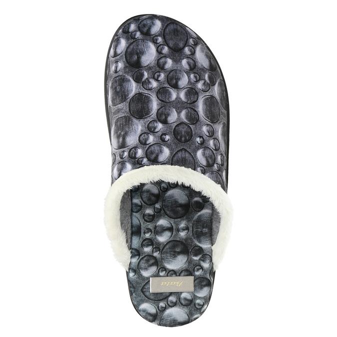 Dámská domácí obuv šedá bata, šedá, 579-2622 - 26